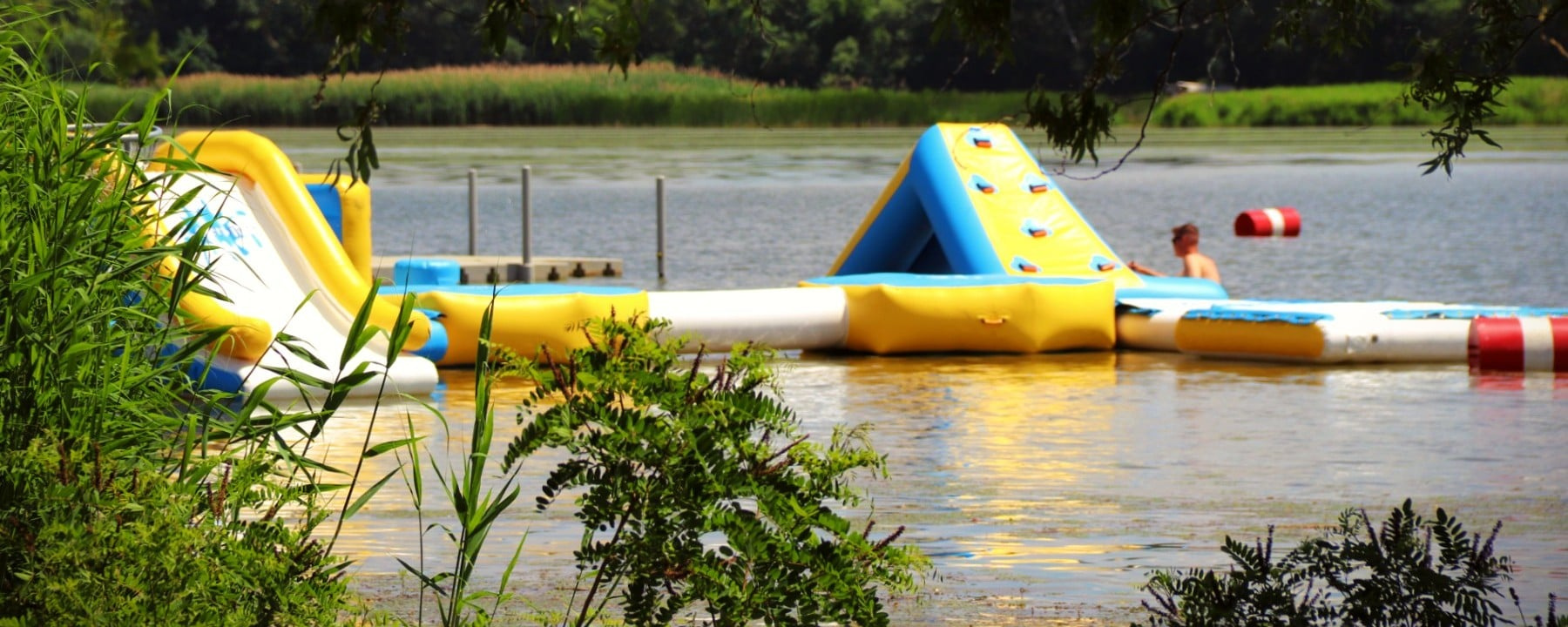 Ring-a-tó Kisköre Strand, Vízi játszótér